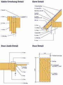 Storage Shed Blueprints for a 8×10 Storage Shed