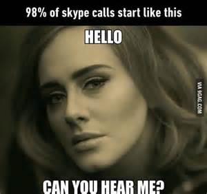 Adele Funny Hello Quotes
