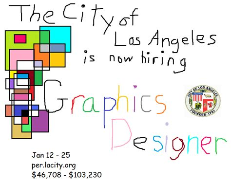 graphic design los angeles the city of los angeles is searching for a quot graphics