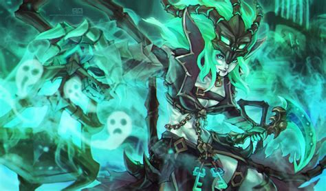 Thresh Animated Wallpaper - league of legends thresh wallpapers hd desktop and