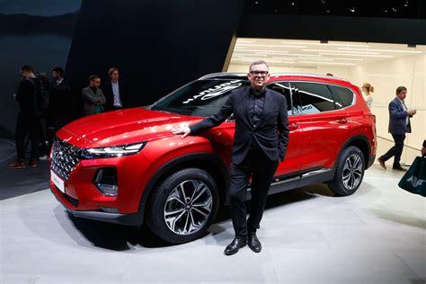 Hyundai Santa Fe 2019 Sắp Có động Cơ Hybrid Và Plugin Hybrid