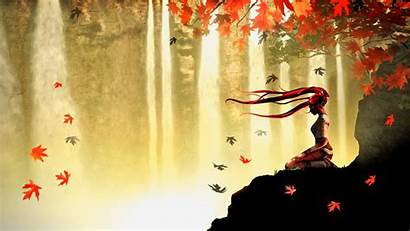 Meditation Anime Autumn 1080 1920 Desktop Wallpapers