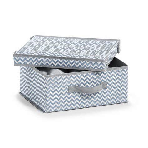 Schone Aufbewahrungsboxen by Zeller Aufbewahrungsbox M Deckel Vlies Wei 223 Grau