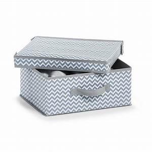 Tupperschüssel Mit Deckel : zeller aufbewahrungsbox m deckel vlies wei grau online kaufen otto ~ Eleganceandgraceweddings.com Haus und Dekorationen