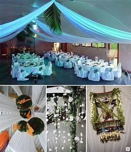 Idee Deco Salle Mariage : idee deco salle de mariage le mariage ~ Teatrodelosmanantiales.com Idées de Décoration