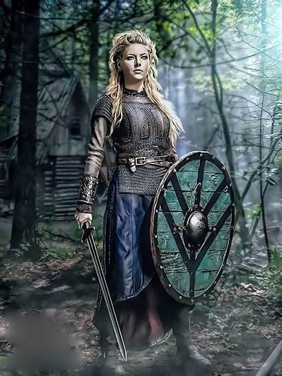 Lagertha Vikings Deviantart Viking Warrior Thecasperart Tv