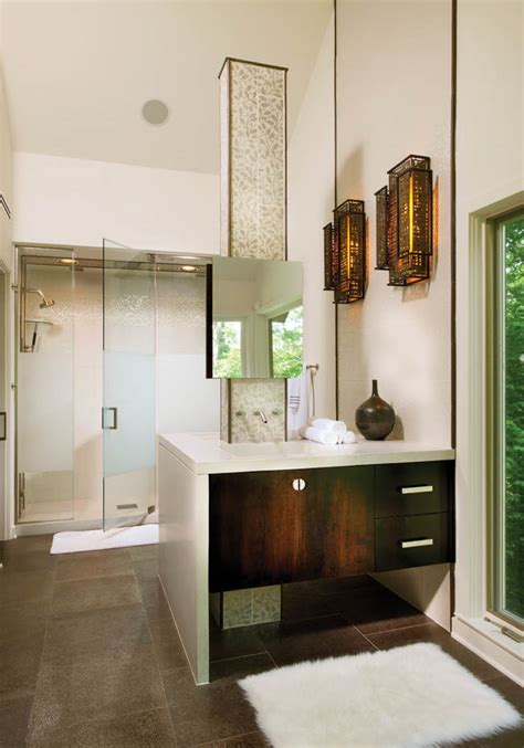 kohler shower system adds luxury   bathroom design