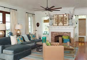 Teal Accent Cabinet by South Carolina Beach House Home Bunch Interior Design