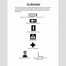 French Directions Vocabulary And Exercise  En Français  Vocabulary, Exercise, French