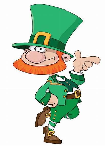 Leprechaun Funny Clipart Patricks Patrick Cartoon Lutin