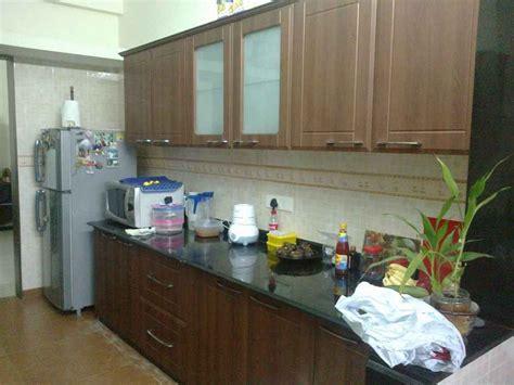 parallel kitchen designed puran attavar interior