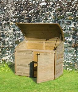 Coffre Rangement Bois : armoire coffre de jardin en bois 900l ~ Teatrodelosmanantiales.com Idées de Décoration