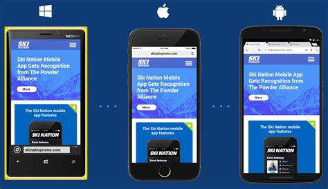 Mobile Website by Mobile Web Development Intersog