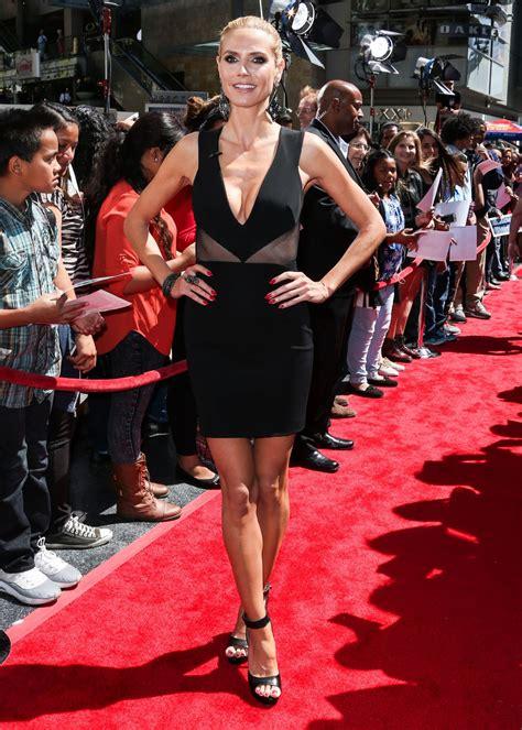 Heidi Klum America Got Talent Season Red Carpet