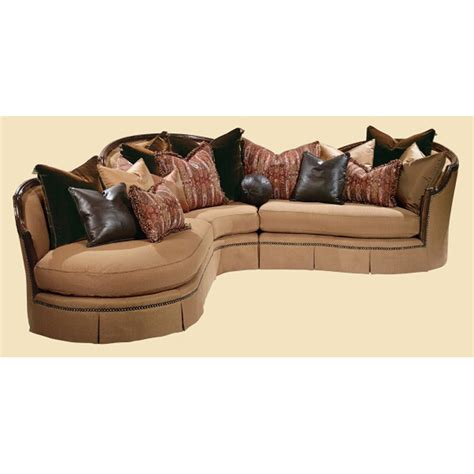 marge carson sofa sectional marge carson issec mc sectionals isadora sectional