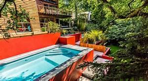 unique piscine pour jardin en pente piscine With amenagement petite terrasse exterieure 4 galerie jardin nature paysagiste toulouse 31