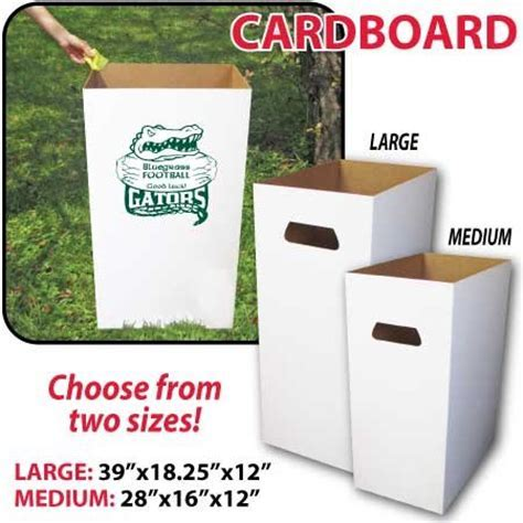 Reusable, Recyclable and Disposable Trash Cans, Sturdy