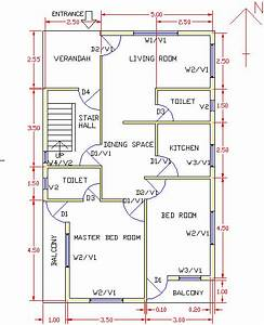Representative Residential Building Layout Plan For Construction In