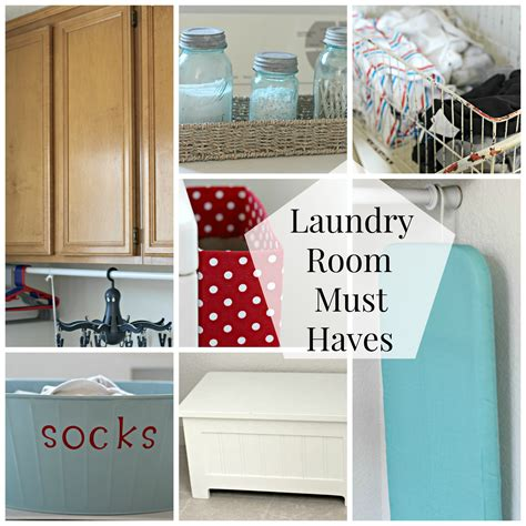 Laundry Room Essentials  Organize And Decorate Everything