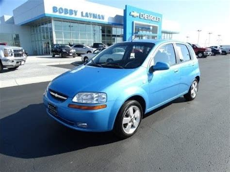 chevrolet aveo lt review find  cars  bobby
