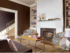 Living Room With Beautiful Fireplace Contemporary Living Room Living Room Modern Brown Living Room Paint Colors Living Room Paint Living Room Monochromatic Living Room Traditional Living Room Make This Hotel Lobby Feel Like An Expansive And Opulent Living Room