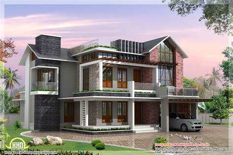 2 Beautiful And Different Villa Elevations