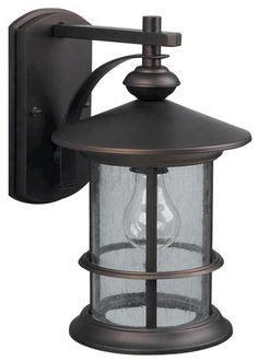 hton bay stockholm 1 light outdoor satin bronze post