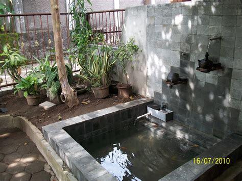 contoh gambar desain kolam minimalis mewah terbaru kamar