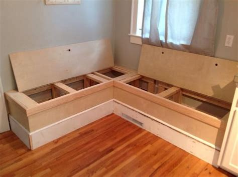 How To Build Kitchen Nook Bench by How To Make A Custom Breakfast Seating Nook Recipe