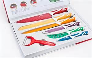 swiss koch kitchen collection other cutlery knives swiss royalty line 7 colour knife set swissline was sold for