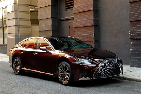 lexus sedan 2018 lexus ls 500 f sport adds visual aggression handling