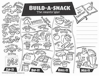 Healthy Worksheet Preschool Snack Eating Worksheets Printable