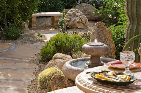Colorful Desert Garden - Desert Foothills Landscape