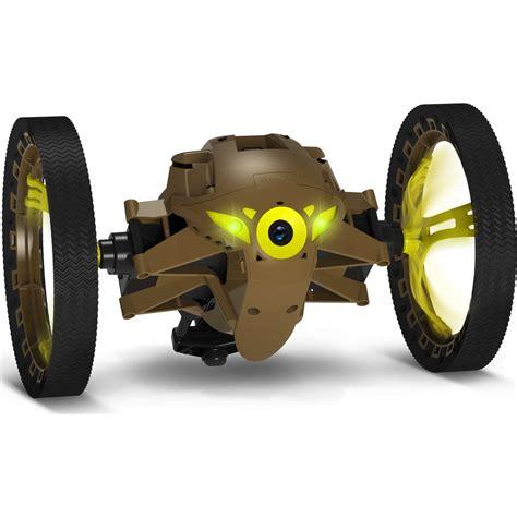 acheter  parrot minidrone jumping sumo kaki sur robot advance