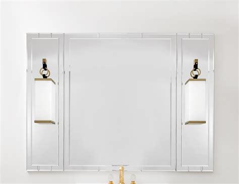 Lutetia 0ltsp170ls Luxury Art Deco Designer Bathroom Mirror