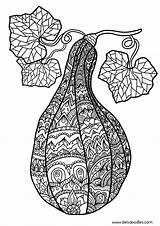 Gourd Coloring Adult Pages Colouring Deviantart Mandala Welshpixie Sheets Books Printable Northern Season Zentangle Happy Related Gourds Template Colour Link sketch template