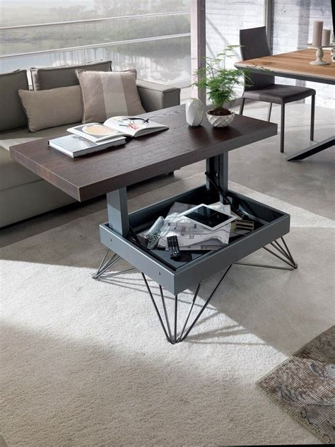 Lift top tables present plenty of benefits to the person when compared to the traditional design of coffee table. #CoffeeTable #DiningRooms #Furniture 30+ Amazing Convertible Coffee Table To Dining Table ht… in ...