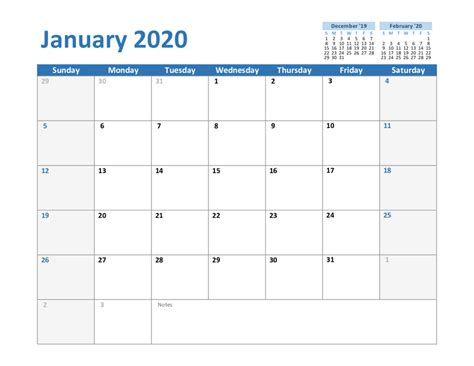 create  january  calendar printable editable