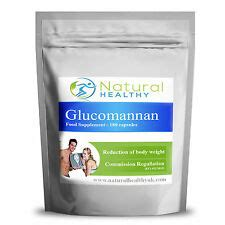 fiber in pill form glucomannan health beauty ebay