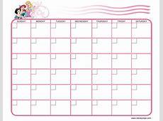 Disney Yearly Calendar Templates Calendar Template 2018
