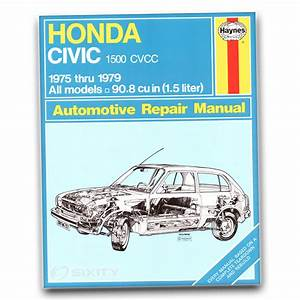 Honda Civic Haynes Repair Manual Cvcc Shop Service Garage