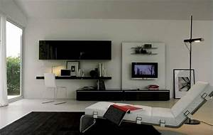 Living Room Tv Wall Ideas (12 Image) | Wall Shelves