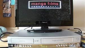 Prueba Funcionamiento Reproductor Dvd Y Vhs Philips
