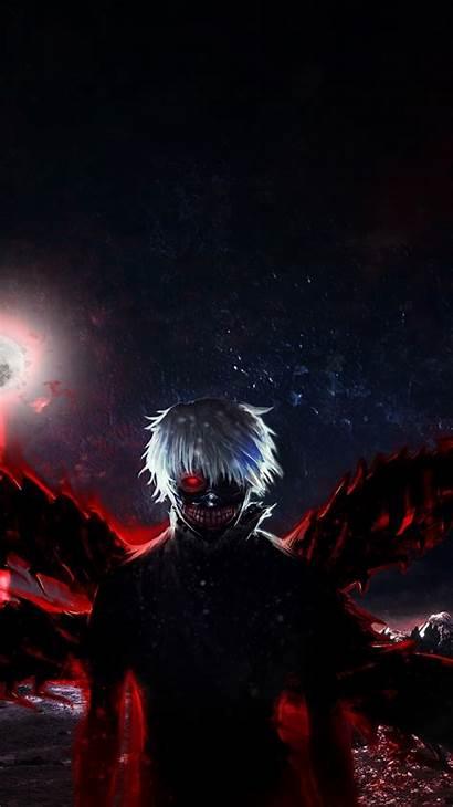 Ghoul Tokyo 4k Dark Wallpapers Anime Iphone