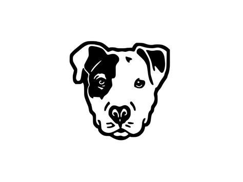 cuisine blanc et gris stickers tête de chien