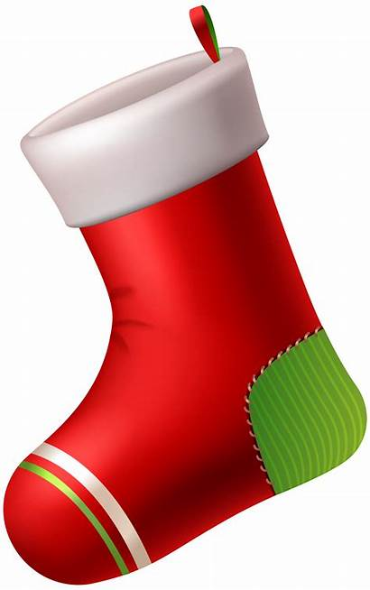 Stocking Clip Clipart Transparent Santa Stockings Cane