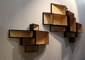 Decorative wooden wall shelves home design for Decorative wooden letters for shelves