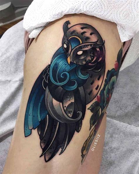 wave owl tattoo  tattoo ideas gallery