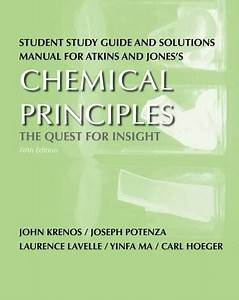 Student Study Guide And Solutions Manual For Atkins And