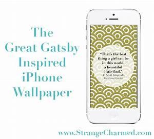 Great Gatsby Inspired iPhone Background - Strange ...